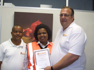 January 2017 | Directors Award - Golden Employee of the month  - Nomhle Mati